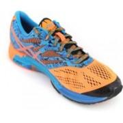 Asics Gel-Noosa Tri 10 Men Running Shoes(Orange, Orange, Blue)