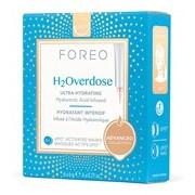 Ufo h2overdose máscara facial ultra-hidratante para pele seca 6x6g - Foreo