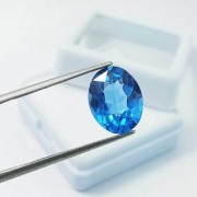 12.05 Ratti High quality Topaz stone Blue topaz Lab Certified