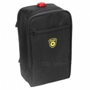 B-SOUL ultimo bolso multifuncional del equipaje del coche de la rueda dividida de la bicicleta 4.5L con la funcion de la lampara - negro