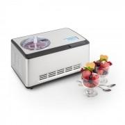 Klarstein Dolce Bacio, aparat pentru înghețată, compresor, 2l display LCD din oțel inoxidabil (TK49-DolceBacio-WH)