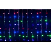 Instalatie de Craciun Flippy Tip Perdea 2 x 2 m 240 LED-uri Interconectabila Multicolor