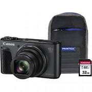 Canon Digital Camera PowerShot SX730 HS 20.3 Megapixel Black + 1 x 32GB SD Card, 1 x Case