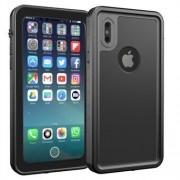 Apple REDPEPPER IP68 Dykväska Upgrade Dustproof Snowproof Waterproof Case för iPhone X / 10