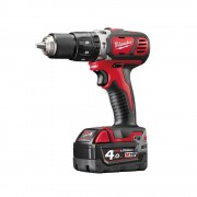 Milwaukee M18 Bpd-402c Milwaukee Trapano Avvitatore Con Percussione A Batteria Litio Da 18 V