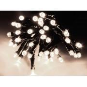 LED-Lichterkette, 80 LEDs, kaltweiß, 230V~, IP44, 8 Funktionen, Memory