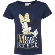 Tricou Minnie Mouse Dinsey Navy