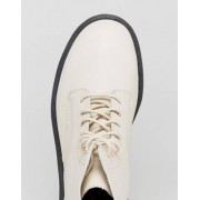 Dr Martens Pascal Decon 8 Eye Boots - Cream