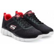 Skechers EQUALIZER 2.0- TRUE BALAN Running Shoes For Men(Black)