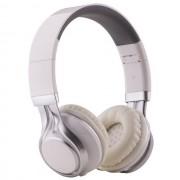 Maxy Cuffia On-Ear A Filo Stereo Headphones Ep-16 Universale Jack 3,5mm White Per Modelli A Marchio Wiko