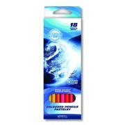 Set 18 creioane colorate ODYSSEY