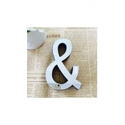 ELECTROPRIME® Fahion 26 Letters Acrylic Sticker Letters Home Decor English 3d Mirror Wall Stickers (I)