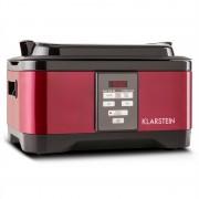 Klarstein Tastemaker Sous-vide Garer lassú főző, 550 W, 6 l, rozsdamentes acél, piros (SVD1-Tastemaker-R)