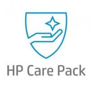 HP Assistance matérielle HP pour écrans grande taille, extension de garantie, sur site jour ouvré suivant, 1 an