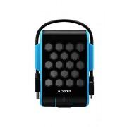 ADATA USA ADATA HD720 1TB USB 3.0 Waterproof/ Dustproof/ Shock-Resistant External Hard Drive, Blue (AHD720-1TU3-CBL)