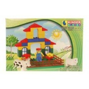 Peacock Kinder Blocks Farm House
