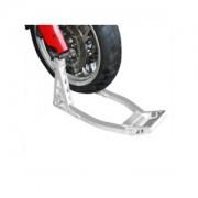 Motorcykelställ aluminium för framhjul