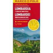 Wegenkaart - landkaart 02 Lombardei - Lombardije | Marco Polo