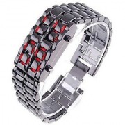 KAYRA FASHION Sharp Blade Samurai Attack LED DARK WORLD Digital Watch - For Boys Men Couple