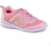 Pantofi Fete BIBI EASY Roz cu LED 32 EU
