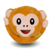 Perna decorativa Emoji Maimuta Happy Face