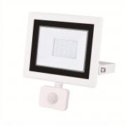 Silamp Projecteur LED 20W Détecteur de Mouvement Crépusculaire Extra Plat IP54 - couleur eclairage : Blanc Neutre 4000K - 5500K
