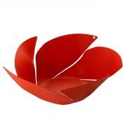 Alessi Twist Again fruitschaal rood