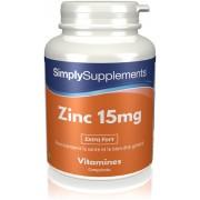 Simply Supplements Zinc 15mg - 120 Comprimés