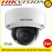 Camera supraveghere video IP 2 MP Hikvision DS-2CD2123G0-I 2.8mm IR 30m, WDR, IK10, H.265/H.264, IP67