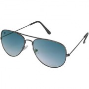 Walrus John Blue Gradiat Color Unisex Aviator Sunglass - WS-JOHN-280202