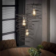 Dimehouse Industriële hanglamp Twist 3-Lights