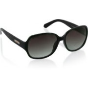 Fastrack Over-sized Sunglasses(Black)