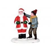 Lemax Front Yard Santa