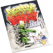 Urban Media Graffiti Coloring Book Malbuch