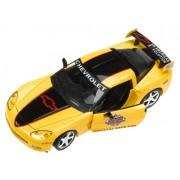 2005 Daytona 500 Yellow & Black C6 Corvette Coupe 1:24 Diecast