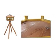 Ständer für Vogelhäuser Drew-Handel N60 Ständer aus Nadelholz