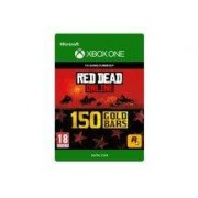 Xbox Giftcard Live Red Dead Redemption Online 150 Gold Bars Xbox One