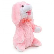 Dancing Singing Plush Rabbit Cute Dancing Rabbit Singing Music Plush Soft Toy Ears Hands Moves Up Down with Music - (Multicolor)