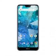 Nokia 7.1 (2018) 32GB blue dual simkaart Android 8 smartphone met uitzichtcamera