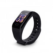Brățară inteligentă F1 negru - caracteristici- fitness, conectare anti-furt, Android și ios.