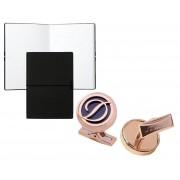 Set Butoni Pink Gold S.T. Dupont si Note pad Black Hugo Boss
