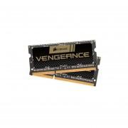 Corsair Vengeance 16GB DDR3 SDRAM Memory Module - 16 GB (2 X 8 GB) - DDR3 SDRAM - 1600 MHz DDR3-1600/PC3-12800 - 1.50 V - Non-ECC - Unbuffered - 204-pin - SoDIMM - CMSX16GX3M2A1600C10