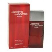 Jacomo de jacomo rouge 100 ml eau de toilette edt profumo uomo