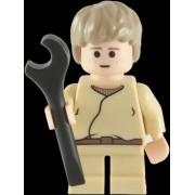 Lego Star Wars: Anakin Skywalker (Short Jambes) Mini-Figurine Avec Spanner