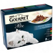 Gourmet Perle Finas Láminas en sobres 8 x 85 g - Finas Láminas en Salsa