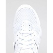 Nike Air Huarache Trainers In White 318429-111 - White