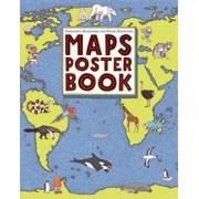 Maps Poster Book, Paperback/Aleksandra Mizielinska