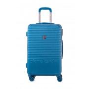 Pierre Cardin Hartschalen-Trolley Perle, B40 x H65 x T25 cm blau