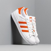 adidas Superstar Ftw White/ Orange/ Ftw White