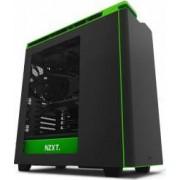 Carcasa NZXT H440 Matte Black Green New Edition